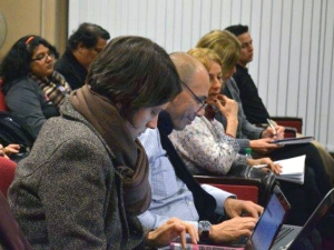 Participants of the 2014 session of the IBE-UNESCO Diploma in Latin America (Uruguay)